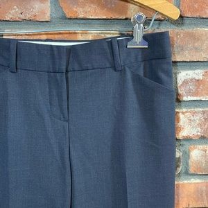 Theory Pants - Theory Max C Tailor Wool Dress Pants in Charcoal